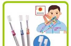 Hydrogen Ion Toothbrush - Japanese Toothbrush Uses Solar Panels and Semiconductors