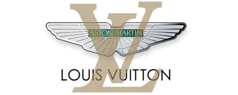 Louis Vuitton Aston Martins