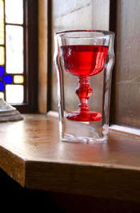 Challace Pint Glass by Emiko Oki