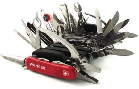 The Wenger Giant Swiss Army Knife