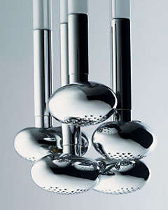Bathroom Inspiration - The Domus Showerhead and Porsche Design Faucets
