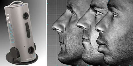 Face Scanning - $40,000 FaceSCAN III Makes 3D Modeling Easy