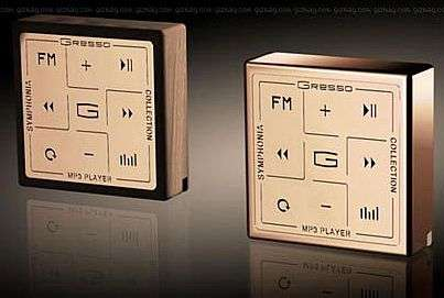 The $4000 Symphonia Series of MP3 player by Gresso