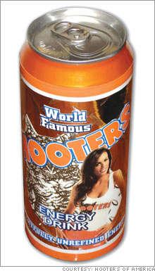 Hooters Energy Drink