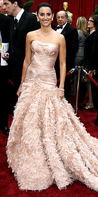Penelope Cruz - Most Beautiful Of 2007 Oscars?