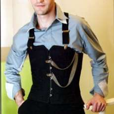 Male Corsets - The New Waistcoat?