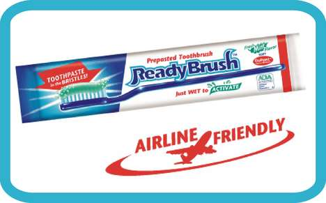 Prepasted Toothbrush to Go