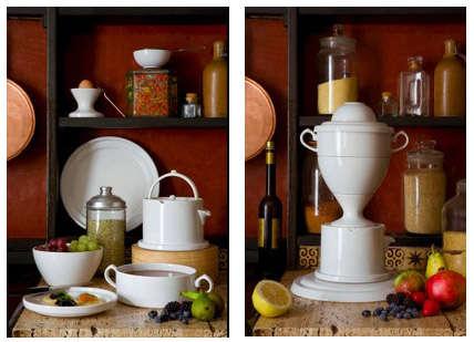 Trophy Tableware by Emiko Oki: Plates in Disguise