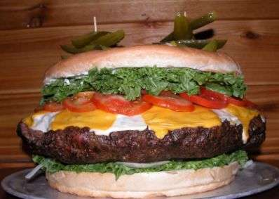 Where's the Beef? 123-Pound Hamburger Breaks Previous Records