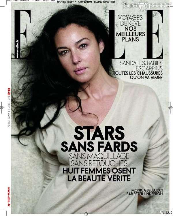 Stars Sans Photoshop Elle France Shows Natural Female Beauty
