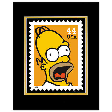 """The Simpsons"" Stamps"