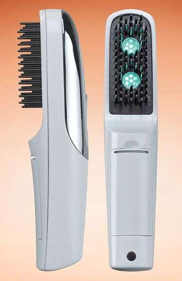 High-Tech Hairbrushes