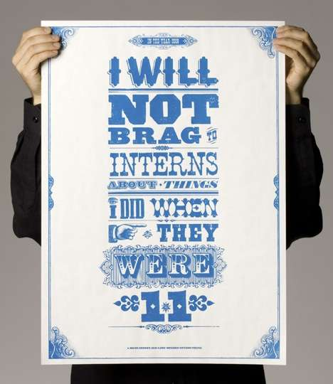 Weird Workplace Motivation - 'Words to Work By' Posters From Publicis Mojo