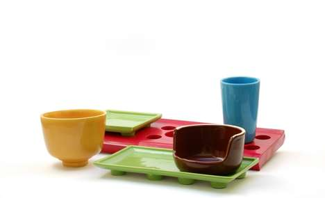 Toy-Inspired Dishware