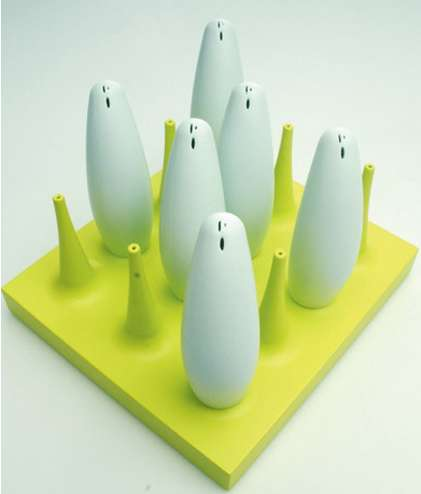 Cloned Salt Shakers - The 'Salt Squad' Stands Guard at Every Place Setting