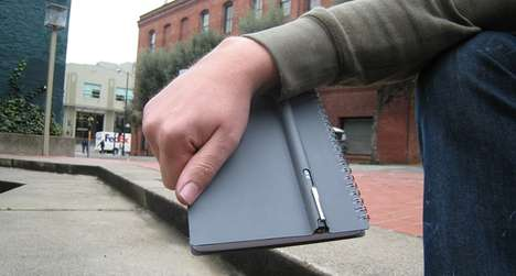 Pen Purses - The Penbook Showcases the Bond Between Book and Writing Instrument
