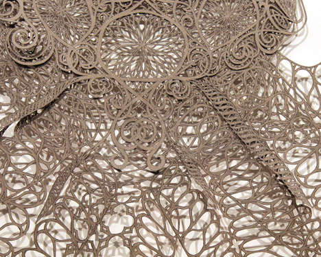 Latticed Paper Art