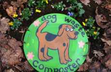 Pet Poop Recyclers - Urban Pet Waste Composter For DIY Gardening Enthusiasts