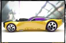 Micro Mini Supercars - Miniature 64th Scale Car Concept Models