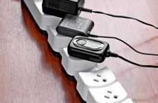 Expandable Surge Protectors - The 'Socket Sense' Expands to Fit All Your Plugs