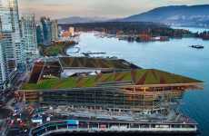 Green Olympic Architecture - Vancouver Convention Centre Has Living Roof, Seawater Heating
