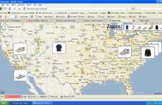 Live Shopping Tracking - Real Life Fashion Stalking Begins With The Zappos Map