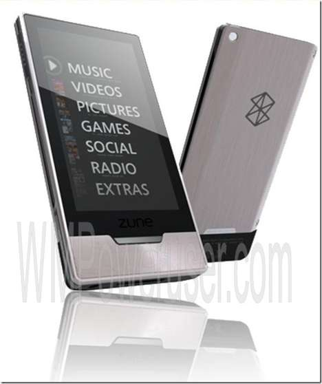 Hi-Def Portable Media - Multi-Touch Full-Screen ZuneHD With Xbox Support
