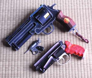 Papercraft Pistols