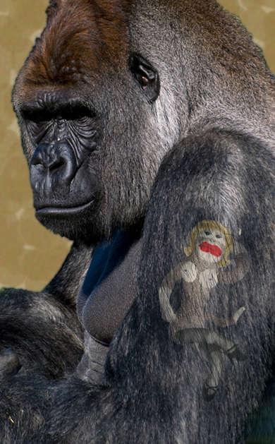 Tattooed Primates