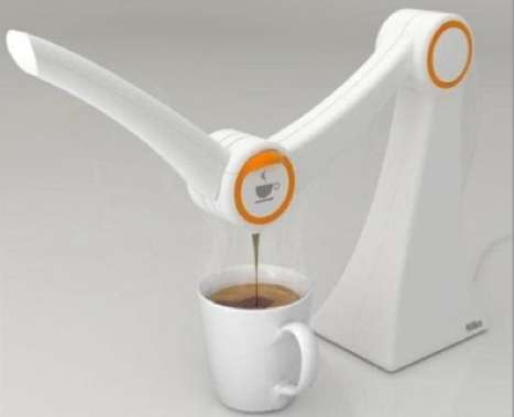 Compact Coffee Makers - Alisson W. Stroher's 'IMO' Features a Sweet Swing Arm