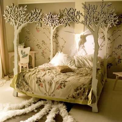 fantasy bed set .