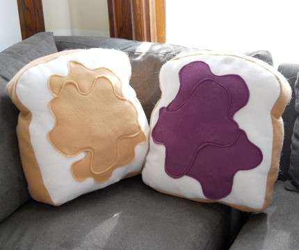 16 Food Shaped Pillows
