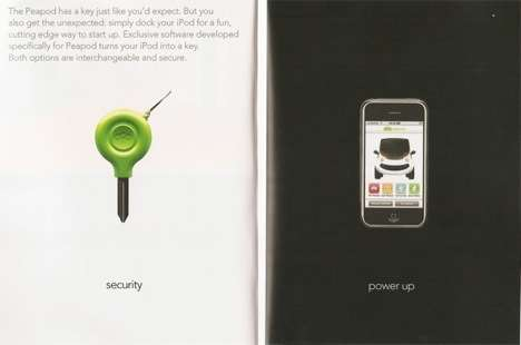 The Chrysler GEM Peapod Will Use iPhone as Ignition Key