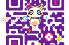 Designer QR Codes - Louis Vuitton & Takashi Murakami Make QR Codes Fashionable