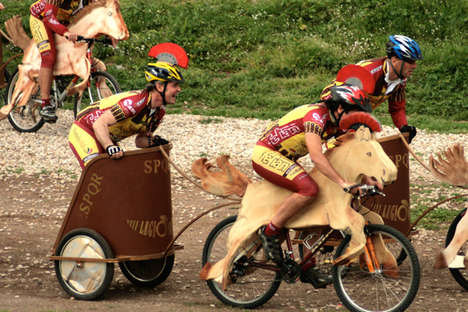 Modern-Day Chariot Races