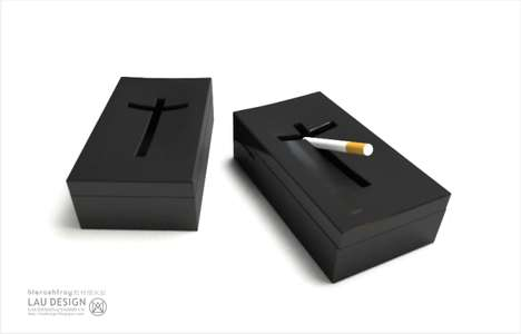 Coffin-Shaped Ashtrays