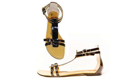 Olsen Haus 'David' Gladiator Sandals Exemplify Eco-Chic