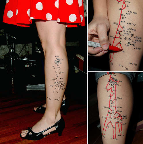 Connect-the-Dots Tattoos