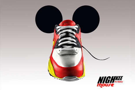 Mouse Ear Sneakers