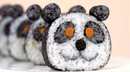 Sushi Art - Fancy Sushi Rolls, From Cartoons to Flowers, Make Rice More Fun