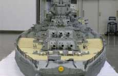Huge LEGO Ships - Japanese Warship 'Yamato' Took More than 6 Years to Build