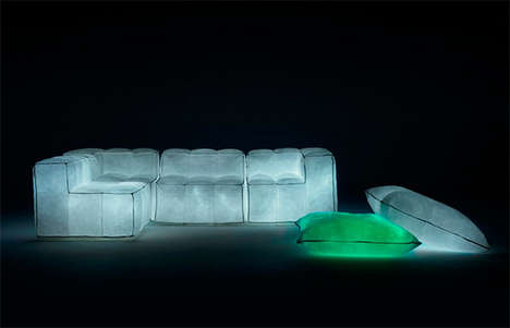 Glow-in-the-Dark Sofas