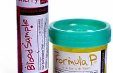 Faux Body Fluid Candy - Medical Vials Filled With Flavored 'Blood' and 'Urine'