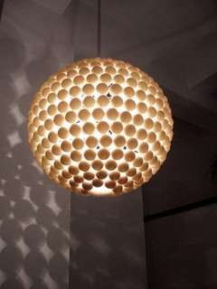 Ping Pong Lighting - DIY Budget Home Decor