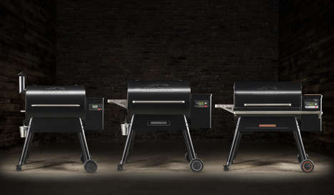 Tech-Infused Grills - Traeger Grills' Products Support Faster Cooking with Wood-Fired Flavor