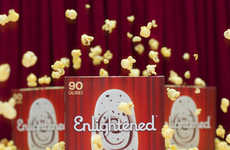 Popcorn Ice Cream Bars - Enlightened's Movie Night Bar is Loaded with Caramel and Chocolate
