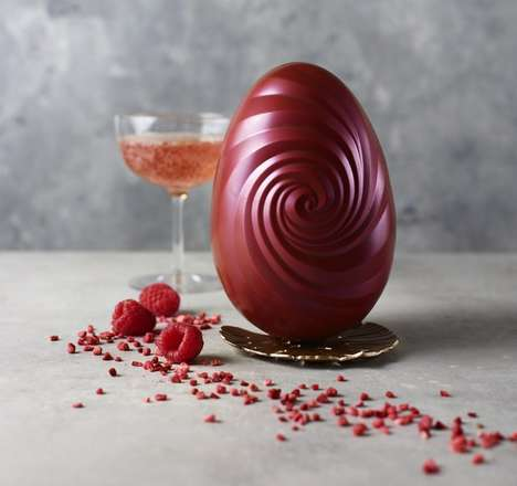 Wine-Infused Chocolate Eggs