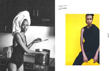 Juxtaposed Fashion Portraits - The Ones 2 Watch 'The New Era' Editorial Fuses Couture and Loungewear