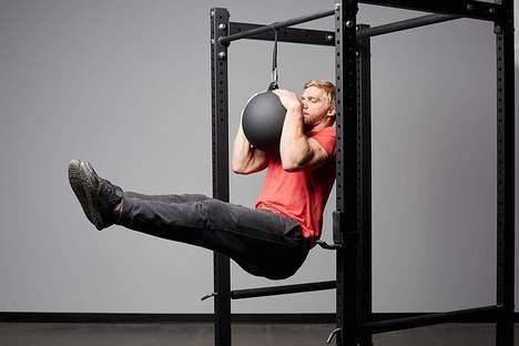 Rubberized Cannonball Workout Solutions