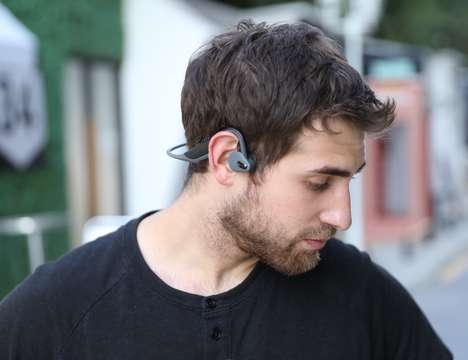 Ergonomic Open Air Headphones - The BoneTalker Adder Headphones Have a Rugged IP56 Rating